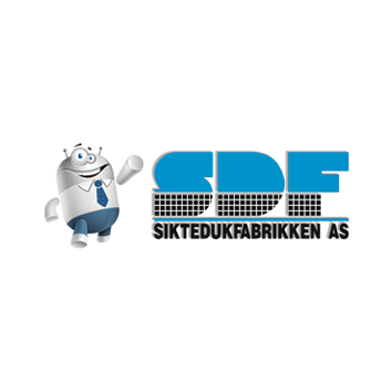 Logo siktedukfabrikken kvadrat